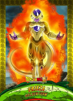 #4 Card Frieza Golden Form by Dony910