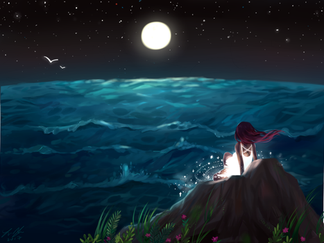 From Stardust to Sea by Aoer