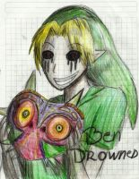 Ben Drowned by SharonWinged