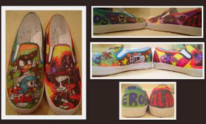 El Tigre Shoes by SharpieSam