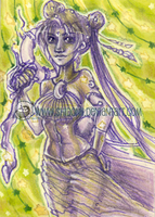 Sailor Moon ACEO - Glow in the Dark! by shidonii