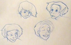 Character Expressions by MizMaxter