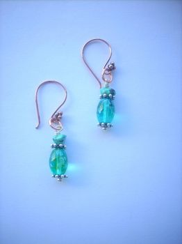 Turquoise Dream Earrings by digart1