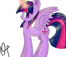 Princess Twilight Sparkle. by LightPower12243015