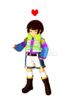 KH Frisk WIP by MadAsThyHatter