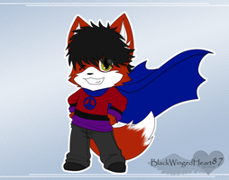 Chibi Super Hero by BlackWingedHeart87