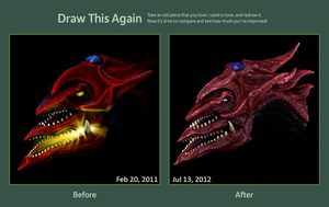 Draw This Again: Slifer The Sky Dragon by nogard00