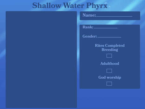shallow water Phyrx app template by lucifers-roomate