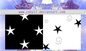 Stars Brushes for Paint tool SAI by brenda by Coby17