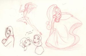 song sketches 1 by scaragh