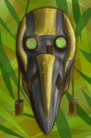 Une's Mask of Silence by UnableToFindName