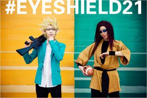 Eyeshield21_dual devils by hybridre