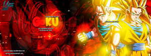 Goku. :'D by Matyedition