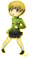 Chie - Persona 4 by dudeapenny