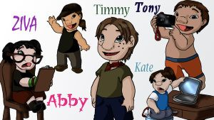 NCIS: Team Kiddies by ode2sokka