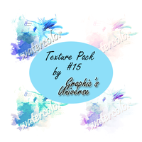 Texture Pack #15 Watercolor by Graphic's Universe by GraphicsUniverse