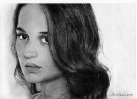Alicia Vikander by Semini