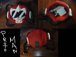 Protoman Back Pack by IrashiRyuu