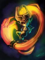 Midna - Colour Test by Tchukart