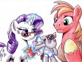 BUCK Art Corner - Emergency Surgery by muffinshire