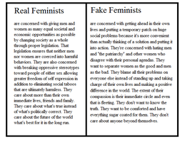 Real vs Fake by LogicalWomen