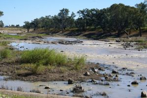 Brewarrina Fishery by Liz-in-BackoBourke