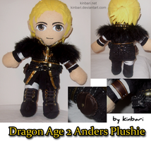 Dragon Age 2 Anders Plushie by kinbari