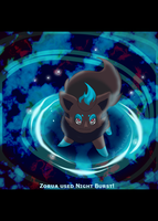 CONTEST ENTRY Zorua Used NB by WeisseEdelweiss