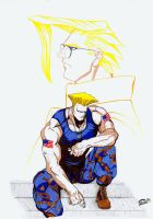 Guile and Nash by Varges