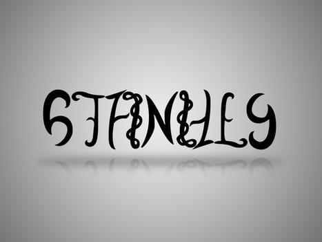 Stanley Ambigram by SL05NED