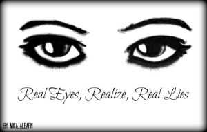 Real eyes by MikaAlbarn