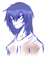 -(Jeff the Killer)- by JinxPiperXD