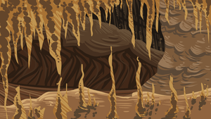 cave by WhiteLilySong