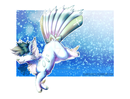 Spring Frost Flower Foxfan DTA Entry by FlamesVoices