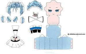 Grimmjow papercraft by Akishan-creation