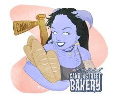 Canal Street Bakery by vertigale
