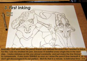 Whiskerwing's Lineart Tutorial by WhiskerWing