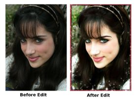 Laura Before And After. by theblueofmyoblivion