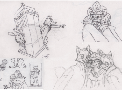 Sketchdump: throwback to un-featured and old art by Quirky-Middle-Child