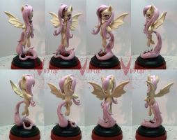 MLP Fluttershy Variant Flutterbat Sculpt Auction by VIIStar