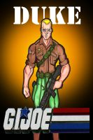 GI JOE: DUKE by RWhitney75
