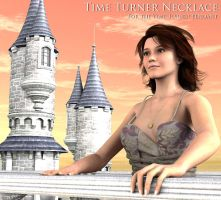 Free 3D Prop: Necklace for the Time Turner Pendant by deslea