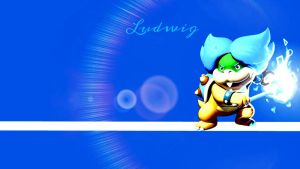 Ludwig Von Koopa Desktop Wallpaper by LostCrystal