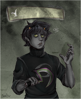 Enter name: Karkat Vantas by clarisu