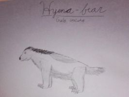 Hyena-bear by PonchoFirewalker01