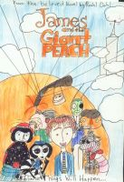 James and The Giant Peach by RagdollCorpse
