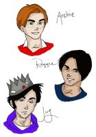 Archie characters by trideegurl2