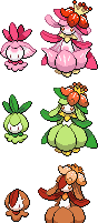 Seasonal Petilil + Lilligant by FakeMakeT
