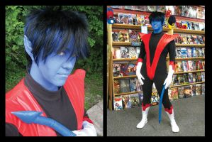 Nightcrawler Cosplay by KMCgeijyutsuka