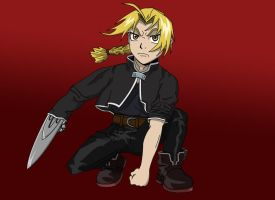 My First Attempt at Fullmetal by EagleOfTheStar